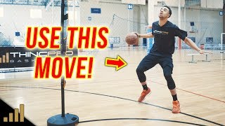 "How to: DEADLY Basketball Moves For Beginners - ""The Hesi Dribble"""