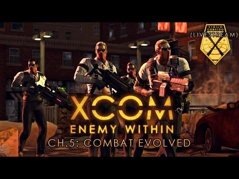 Livestream: XCOM: Enemy Within - Combat Evolved - Pt.2