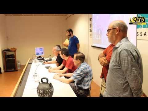 La Taula de l'Aigua es posiciona a favor de municipalitzar la gestió del servei a la BCT de Terrassa