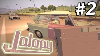 Jalopy - LOOT CRATES on the HIGHWAY to DRESDEN!! - Jalopy Gameplay - Episode 2