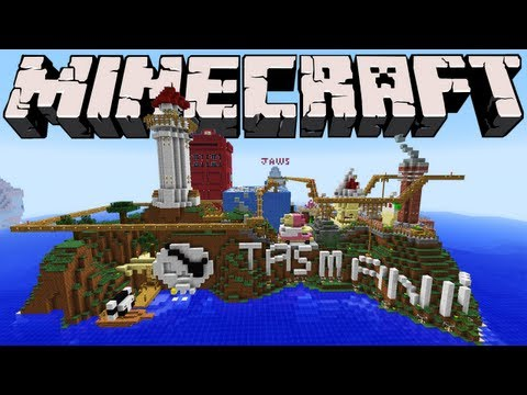 Minecraft - Tasmania