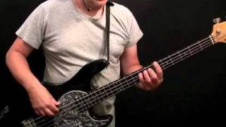 How To Play Bass Guitar To Disco Inferno - The Trampps