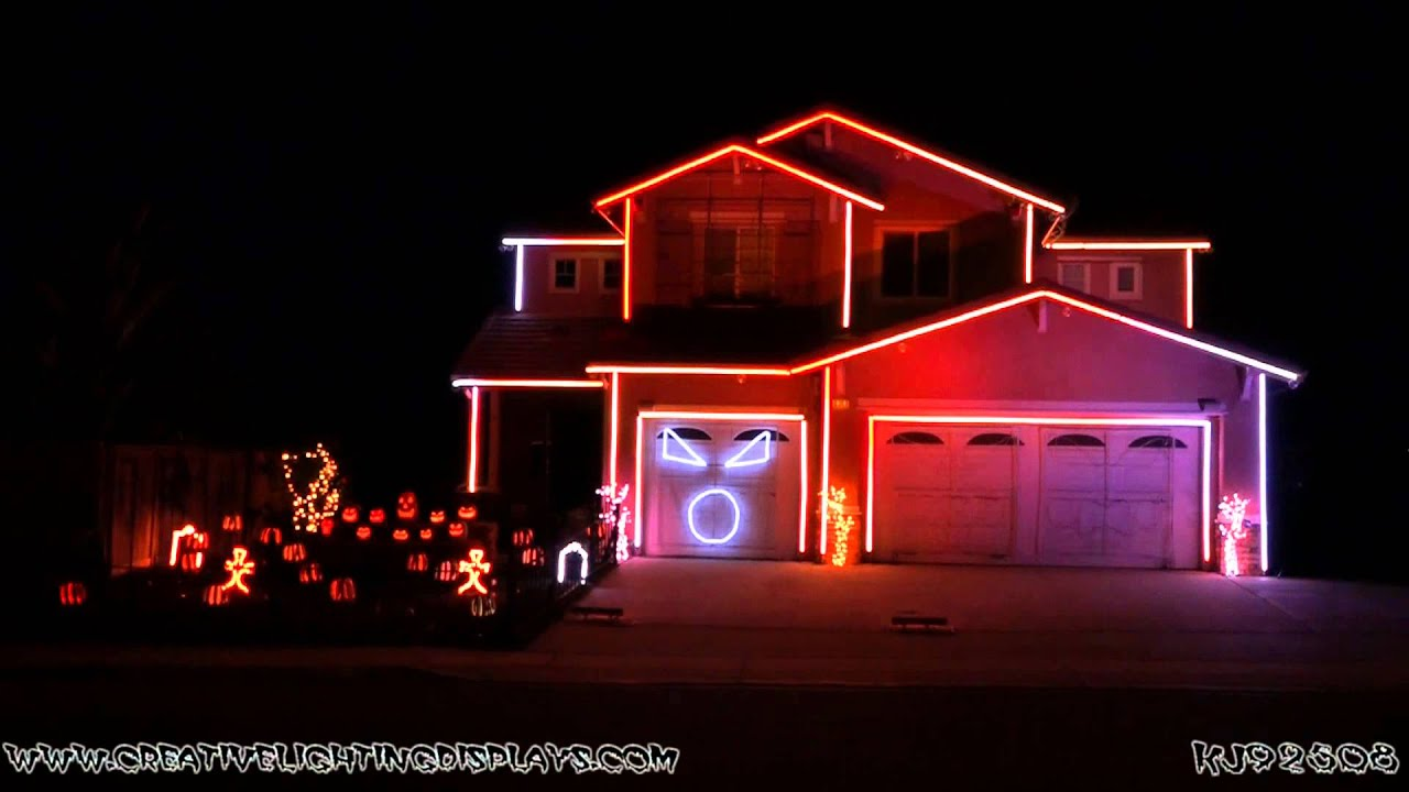 Halloween Pumpkin Lights Led