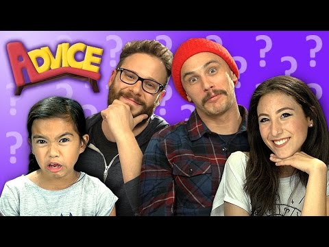 HOW TO KISS (ft. Seth Rogen & James Franco) (REACT: Advice #19)