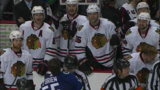 Hawks @ Canucks Game 3 scrum
