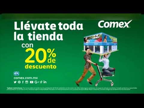 COMEX   20% de Descuento en Toda la Tienda