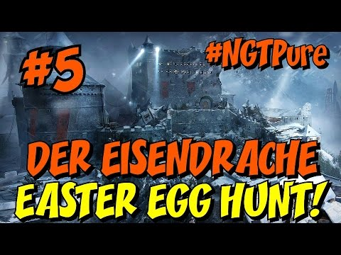 DER EISENDRACHE Easter Egg Hunt LIVE! [5] ★ FINAL 2 Bow Upgrades and MAIN EE Hunt