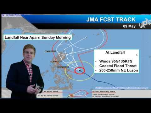 NE Luzon Prepares for Typhoon Noul (Sat AM Update)