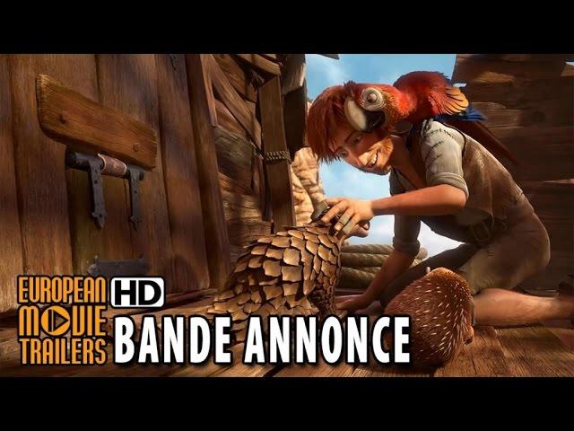 ROBINSON CRUSOE un film d'animation - Bande annonce teaser VF (2015) HD