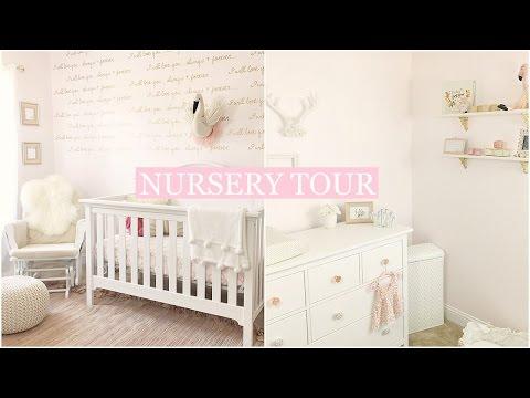 BABY GIRL NURSERY TOUR + Organization ideas | Tara Henderson