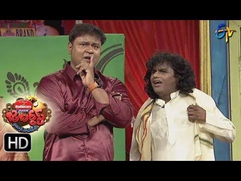 Jabardasth Telugu Comedy Show ,8th Sep 2017,bullet basker and sunami sudhakar performance - ETV Telugu