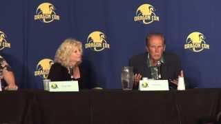 RoboCop panel Dragoncon August 31, 2014 Peter Weller,Nancy Allen