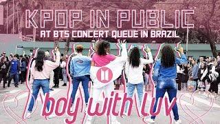[KPOP EM PÚBLICO NA FILA DO SHOW] BTS — BOY WITH LUV dance cover por JJANG B