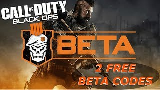 Call of Duty: Black Ops 4 BETA (DAY 2) - 2 FREE BETA CODE GIVEAWAY!!