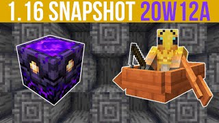 Minecraft 1.16 Snapshot 20w12a Respawn Anchor, 0-Tick Farms & AFK Fishing Nerfed!