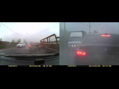 Авария с БМВ в Москве 28 04 2014