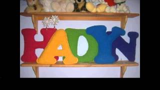easy crochet letters pattern