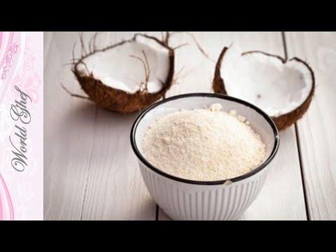 Как сделать кокосовую муку из стружки