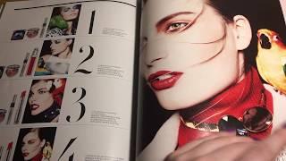 ASMR Magazines Haul (Whispering and page turning)