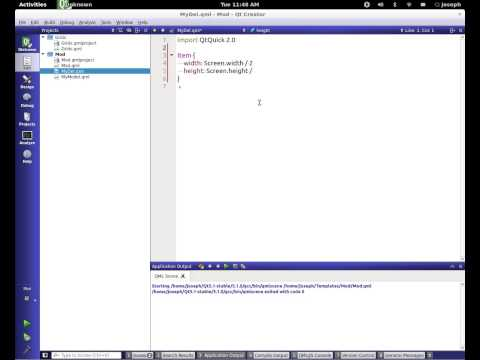Qml Tutorial Part 20 || Intro into Model View Programming