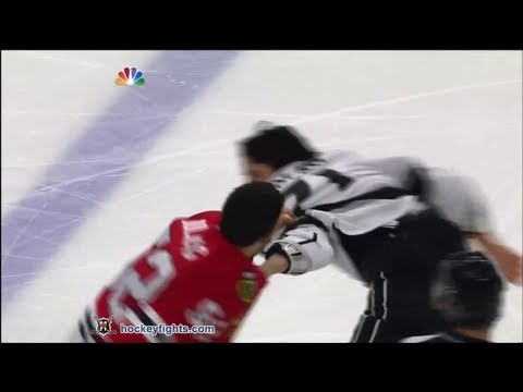 Jordan Nolan vs Brandon Bollig Mar 25, 2013