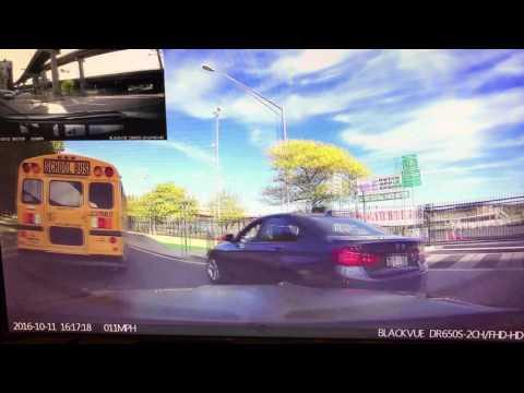 Dashcam BMW crash