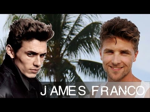 James Franco Casual Hair Tutorial - Koh Lipe - Slikhaar TV