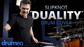 "One-Armed Drummer Plays ""Duality"" by Slipknot"