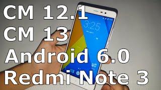 CyanogenMod 12, 13 for Redmi Note 3/Pro (MTK/SnapDragon)