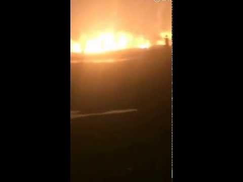 天津大爆炸完整版视频,三次爆炸,世界末日一般…