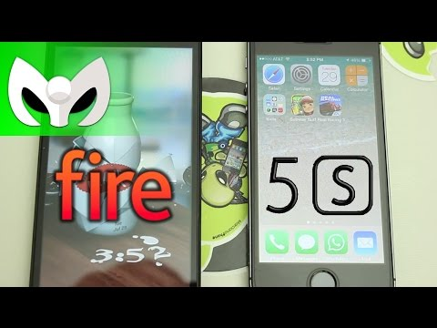Fire Phone vs iPhone 5s (NO GEEKBENCH, Fire Phone NO es Android)