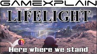 Super Smash Bros. Ultimate - Lifelight Lyrics w/ Captions (World of Light Theme)