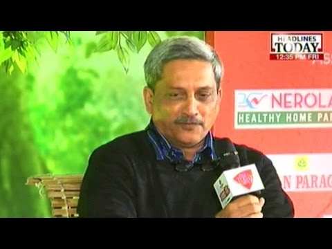 Agenda Aaj Tak: Defence Minister Manohar Parrikar talks about the Indian army