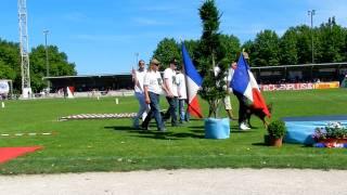 BALTAZAR finale Ring 2011 à Tavaux, arrivée sur la pelouse