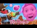 Gooey, Squishie Slime Monsters Vs. FGTEEV Sheriff (Slime Rancher Farm Gameplay  Skit)