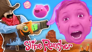 Gooey, Squishie Slime Monsters vs. FGTEEV Sheriff (Slime Rancher Farm Gameplay / Skit)