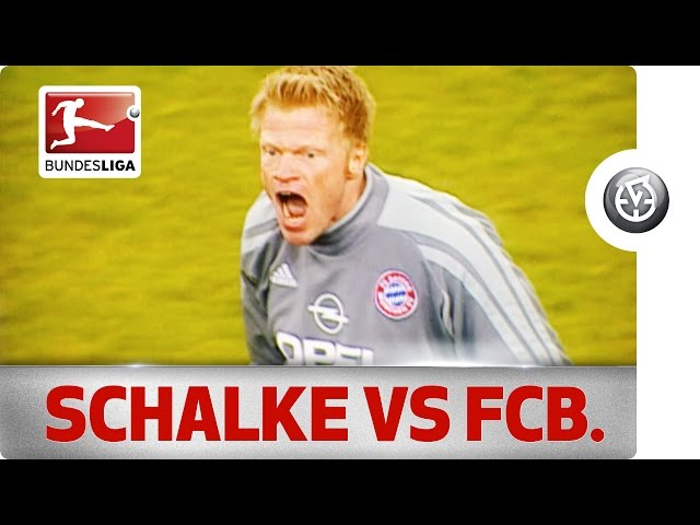 Schalke 04's biggest ever Bundesliga win against Bayern