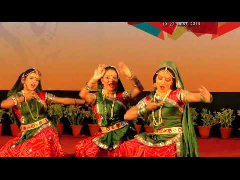 Haryanvi Folk Dance meri Patli Kamar By Sakha Vrind video