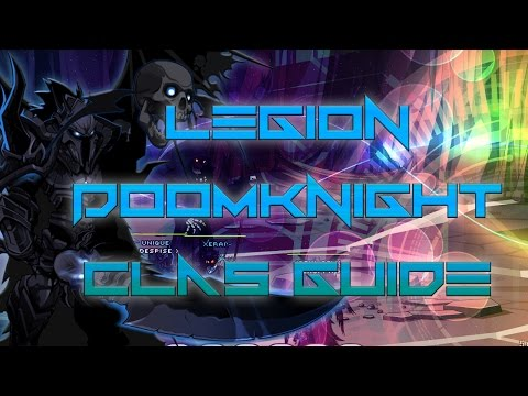 AQW: Legion Doomknight Class Guide! (Enhancements, PVP, SOLO, skill pattern)