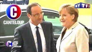 C'est Canteloup - Angela Merkel briefe François Hollande