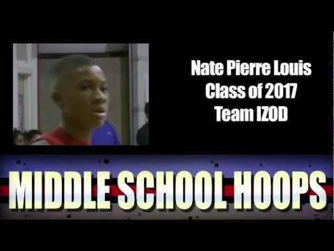 Nate Pierre Louis #8 ranked 7th Grader in the country www.MiddleSchoolHoops.com