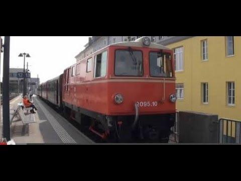 Train Travel in Europe Austria Narrow Gauge Railroad from St. Pölten to Mariazell