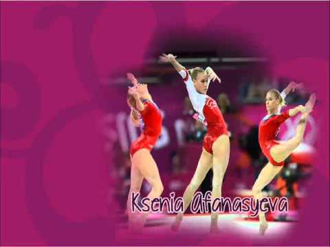 Ksenia Afanasyeva - Floor Music Olympic Games 2012 (Original Song)