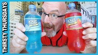 Jolly Rancher Soda Strawberry Vs Blue Raspberry - Thirsty Thursdays