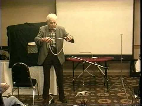 Jerry Andrus at 83 his Optical Illusions