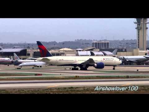 Delta Air Lines Boeing 777 Operations at LAX