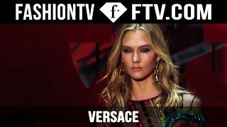 Versace Fall/Winter 2015 ft. Karlie Kloss | Milan Fashion Week MFW | FashionTV