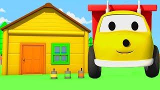 Ethan maluje domek i uczy się kolorów -  ucz się kolorów z Ethanem Śmieciarką