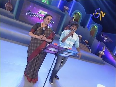 Swarabhishekam - S.P.Sailaja & Mallikarjun Performance - Nalla Nallani Mabbu Song - 13th July 2014