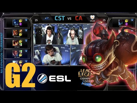 Curse Academy vs Team Coast | Game 2 Round 1 NA LCS Expansion Tournament | CA vs CST G2 60FPS
